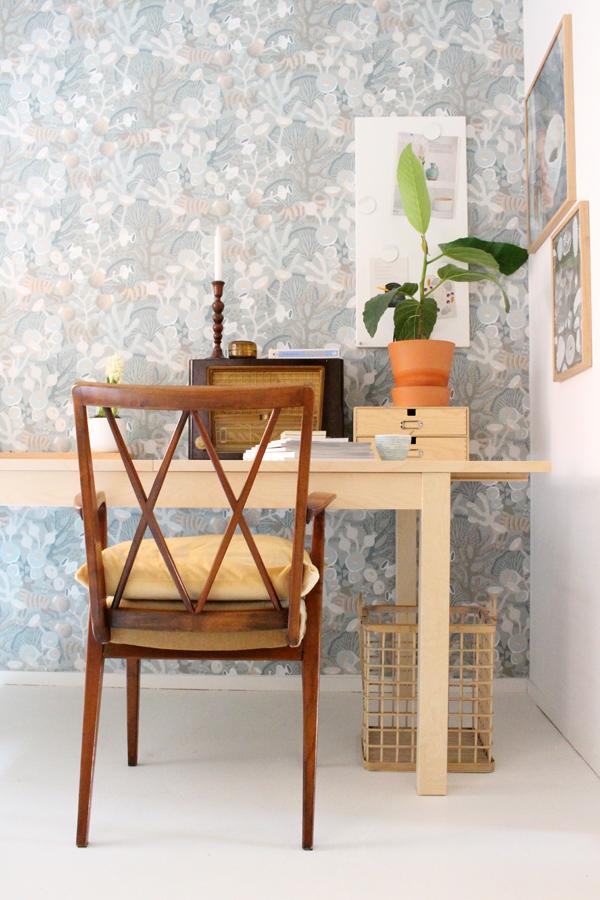 workspace makeover - Accessorize your Home - Borastapeter Desenio IKEA