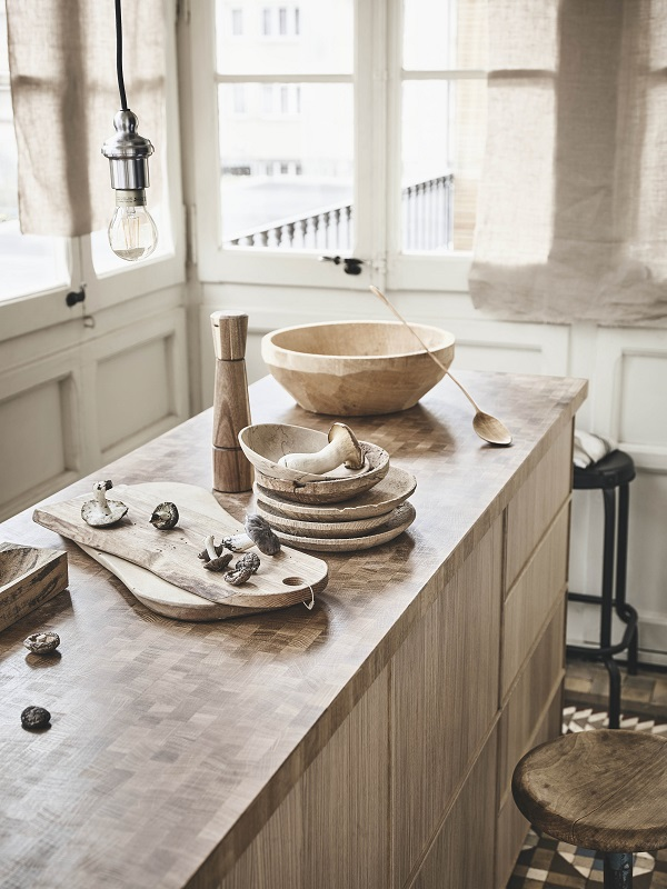 SKOGSA tafelblad van massief hout - via Accessorize your Home
