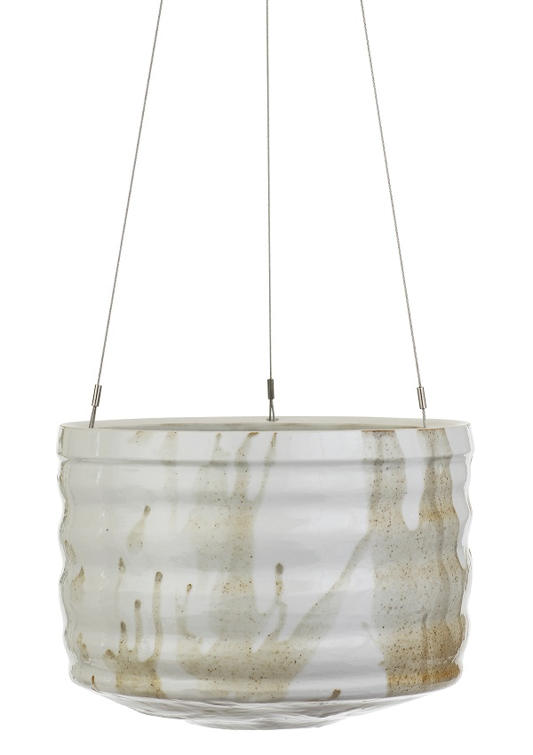 Handgemaakte hangende bloempot van Angus and Celeste - via Accessorize your Home